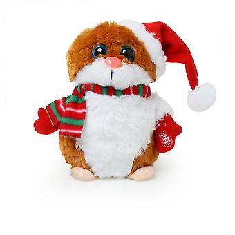 Christmas Shop animerade sjunger jul Hamster