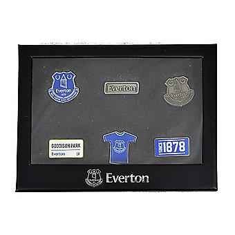 Everton FC Badge Set 6 Pieces