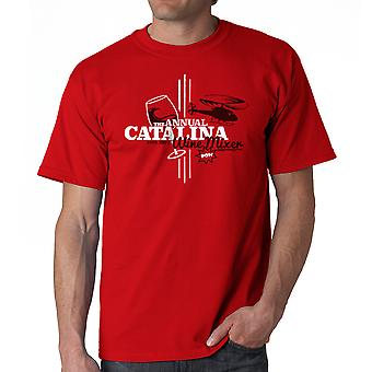Step Brothers Catalina Wine Mixer Men's Red T-shirt