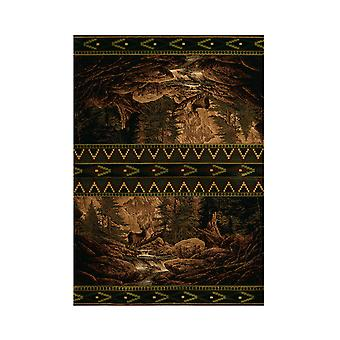 United Weavers Buck Falls Lodge Style Carpet Runner 31 X 88 Inches