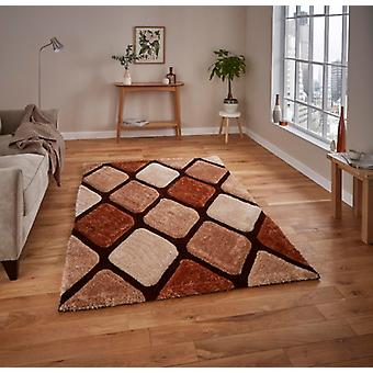 Noble House 9247 Beige Brown Rectangle Rugs Plaine /Presque Plaine Rugs