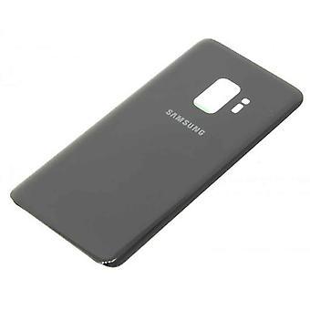 Voor Samsung Galaxy S9 PLus  achterkant glas  - Zilver