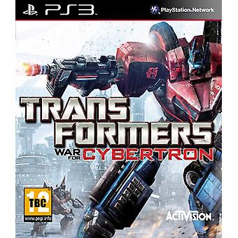 Transformers War voor Cybertron (PS3)-fabriek verzegeld