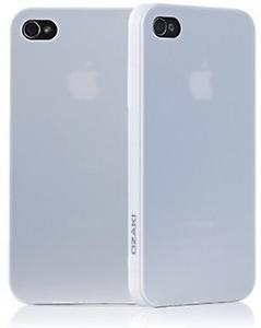 Ozaki iCoat Hard Cover case 0.4mm for iPhone 4 / iPhone 4S - white