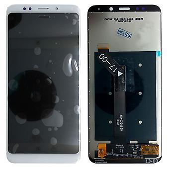 Näyttää koko LCD yksikkö touch varaosat Xiaomi Redmi 5 plus korjata valkoinen uusi