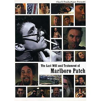 Last Will Testament Marlboro Patch [DVD] USA import