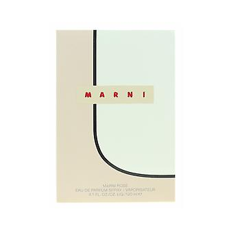 Marni Marni Rose Eau de Parfum Spray 4,1 Oz/120 ml novo na caixa
