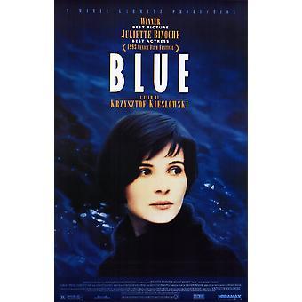 Trois Couleurs Bleu elokuvan juliste (11 x 17)