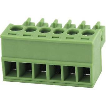 Degson Pin behuizing - kabel totaal aantal pinnen 6 Contact afstand: 3,81 mm 15EDGK-3,81-06P-14-00AH 1 PC('s)