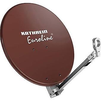 Kathrein KEA 750 SAT antenna 75 cm Reflective material: Aluminium Red, Brown
