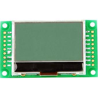 Taskit LCD Black Light green 128 x 64 p (W x H x D) 59.3 x 6 x 29.4 mm LCD_Term 15