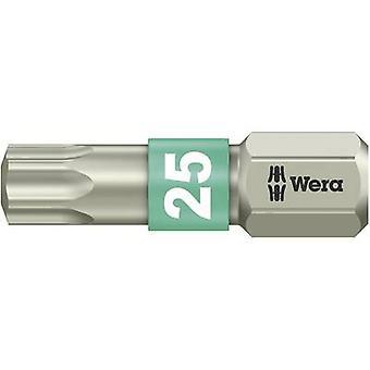 Wera 3867/1 TS TX 25 X 25 MM Torx Bit T 25 Edelstahl D 6.3 1 st.B.