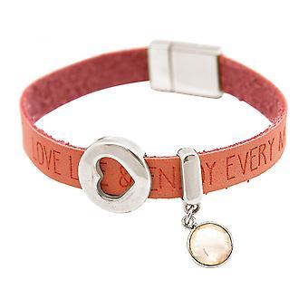 Розовый кварц - розовый - розовый - магнитный замок - браслет - сердце - любовь - пожелания-
