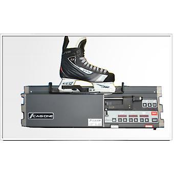Initial sanding for ice skates