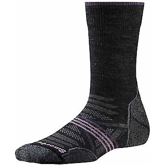 Smartwool PhD Outdoor Light Crew féminin - Charcoal