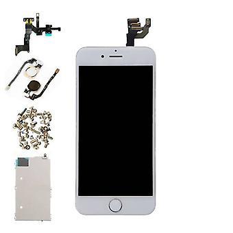 الاشياء المعتمدة® اي فون 6 4.7 & نقلا عن الشاشة قبل تجميعها (شاشة تعمل باللمس + LCD + أجزاء) AA + جودة - أبيض