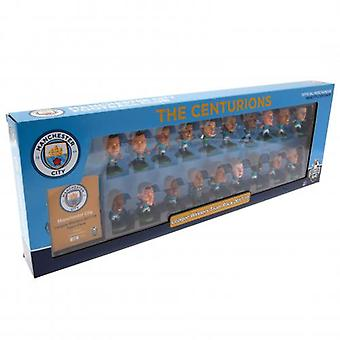 Pack de l'équipe Manchester City SoccerStarz Premier League Winners