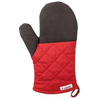 Judge Textiles, Traditional Oven Mitt, Red