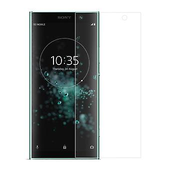 Sony Xperia XA2 plus tank beskyttelse display glas tank dias 9 H glas - 1 stykke