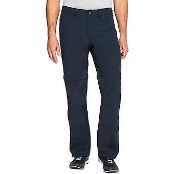ズボンを歩いて通気性旅行オフ ジャック Wolfskin メンズ キャニオン Zip