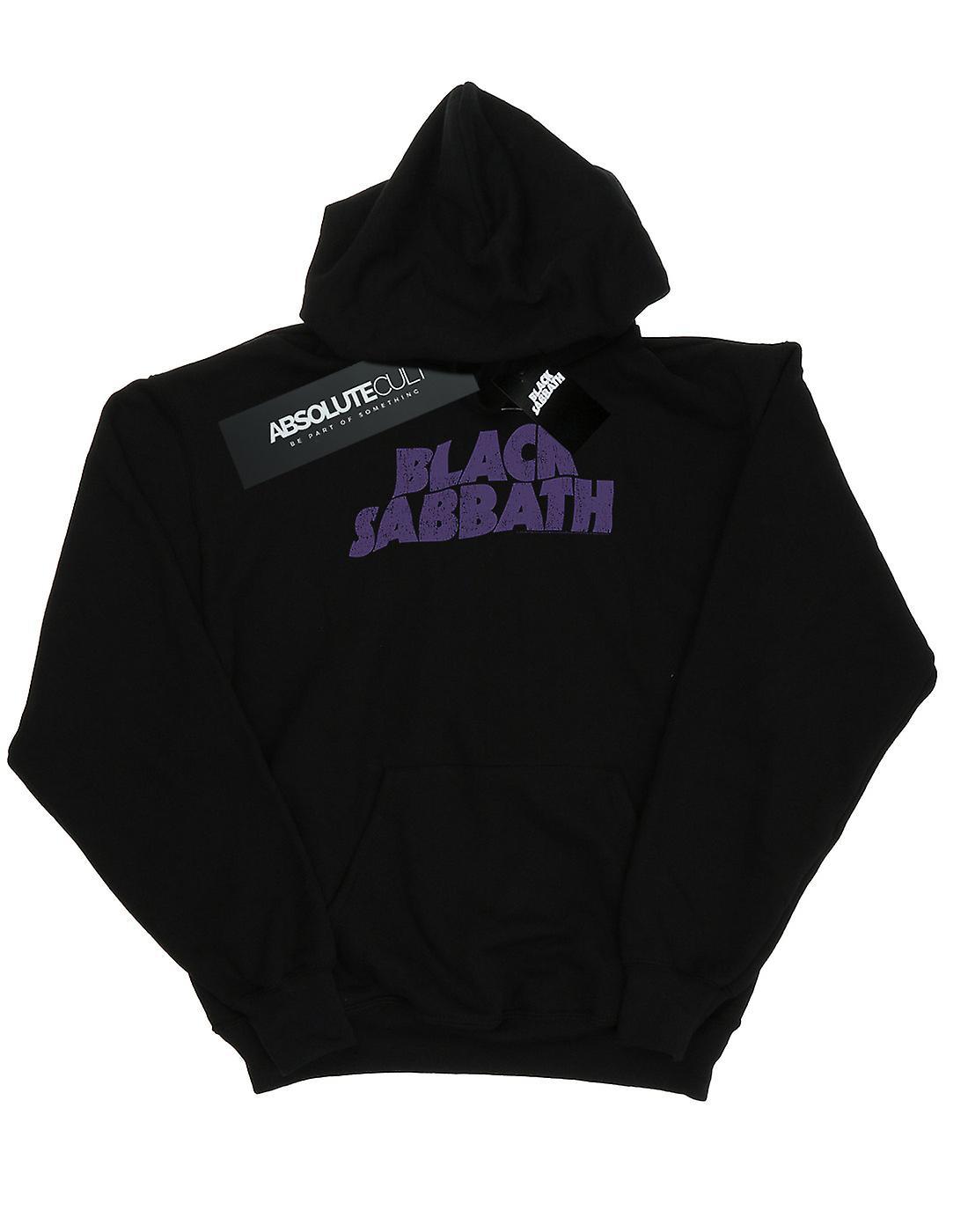 Black Sabbath Women's Distressed Logo Hoodie