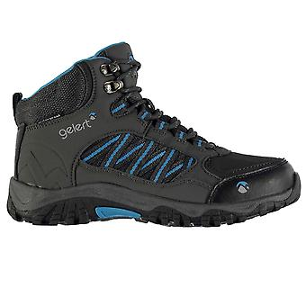 Gelert Kids Horizon Mid Waterproof Walking Boots Juniors Lace Up Ankle Shoes