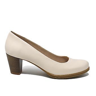 صالون صالون ليبرتي أحذية كعب المتوسطة في الجلد بيج 11803482-05