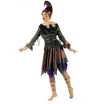 Fée elfe Womens costume elfe robe forêt fée Mesdames costume fée