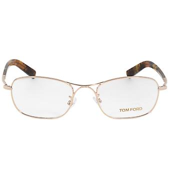 Tom Ford FT5366 28 Rectangular | Rose Gold/Havana| Eyeglass Frames