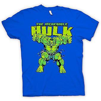 Mens T-shirt -  Incredible Hulk - Comic Hero