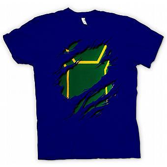 Herr T-shirt - Kick Ass slet Design kostym - roliga superhjälte