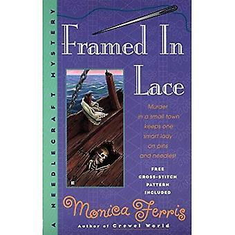 Framed in Lace (Needlecraft Mysteries)