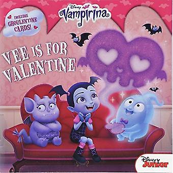 Vampirina Vee is voor Valentijn: 8 x 8 met Punch-out kaarten