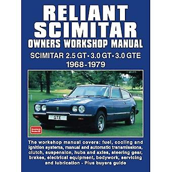 Reliant Scimitar Owners Workshop Manual and Portfolio 1968-1979