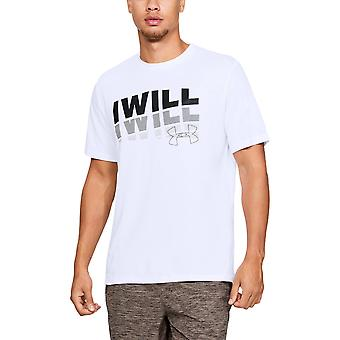 鎧メンズの下で私が 20 の半袖グラフィック T シャツ