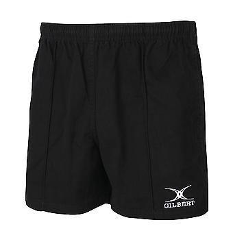 Gilbert Rugby Mens Adult Kiwi Pro Cotton Rugby Shorts
