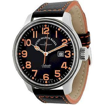 Zeno-watch mens watch oversized pilot automatic 8554-a15