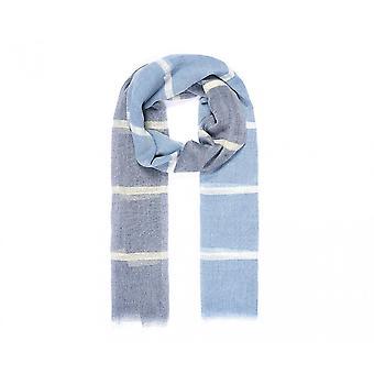 Intriga Womens/senhoras listrado cor lenço bloco