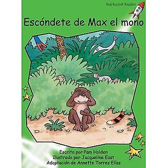 Escondete De Max El Mono by Pam Holden - Jacqueline East - 9781927197