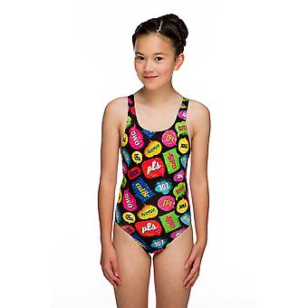 Maru Txt Pacer Auto Back Swimwear For Girls