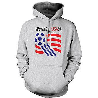 Мужская толстовка - Кубок мира США 94 - футбол футбол