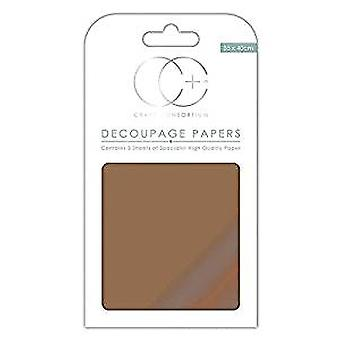 Craft Consortium Decoupage Papers 13.78