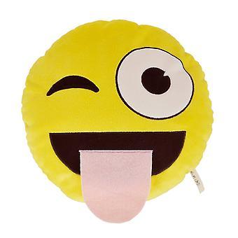 Necknapperz Emoji Wink & Tongue Soft Toy