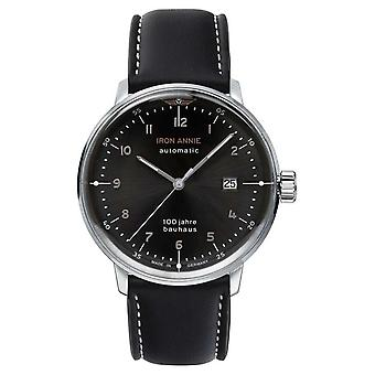 Iron Annie Bauhaus | Automatic | Black Leather Strap | 5056-2 Watch