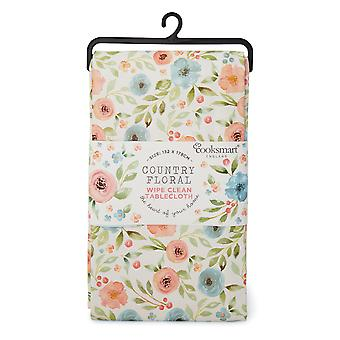 Cooksmart Country Floral Small PVC Table Cloth