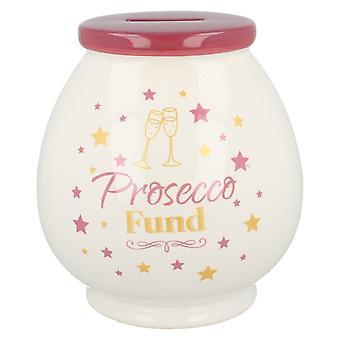 Lesser & Pavey Prosecco Fund Creamic Money Pot LP29135