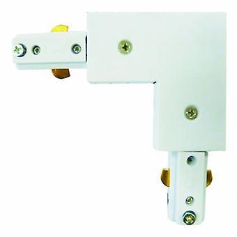 Spot & Track conector de canto branco