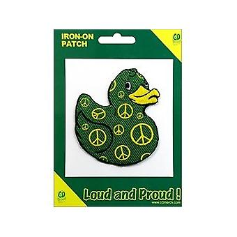 Patch - Animals - Peace Duck Iron On Gifts New Licensed p-4046