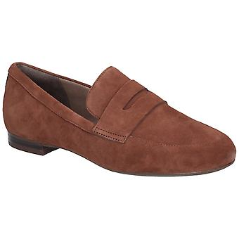 Rockport Womens Total Motion Tavia Penny Loafer Almond