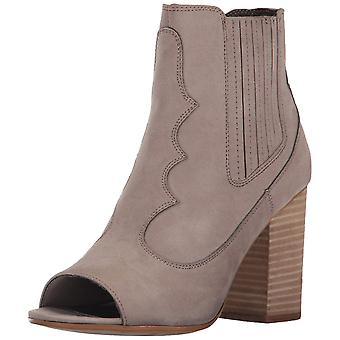 Carlos by Carlos Santana Womens Corby Fabric Peep Toe Ankle Fashion Boots